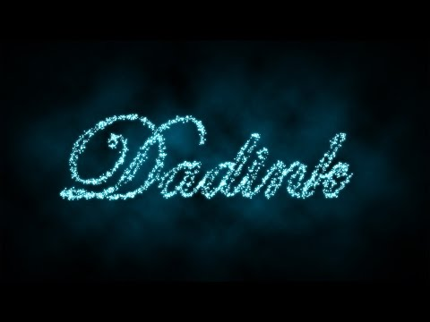 Sparkling, Glowing Text - Photoshop Text Effect