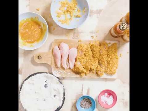 PERi-PERi cornflake chicken