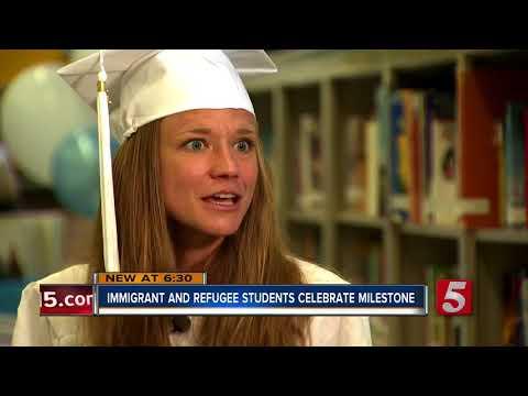 Nashville School For Immigrant & Refugee Students Celebrates Graduates