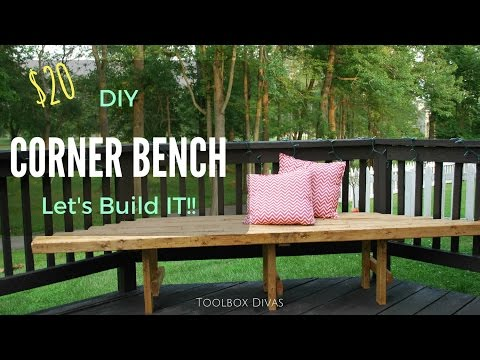 How to Build a DIY Corner Bench for Your Deck