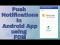 Push Notifications in Android  App