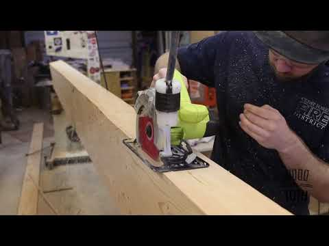 Covering Drywall Beams With Wood Beams