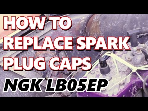 Replace Spark Plug Wire Caps NGK LB05EP