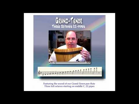 The Pan-Flute Shop : 22-pipe Grand Tenor