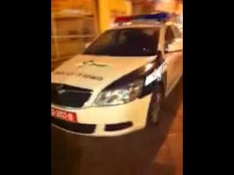 New traffic police car