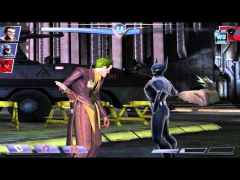 Injustice: Gods Among Us - Animated Batman Beyond Battle!