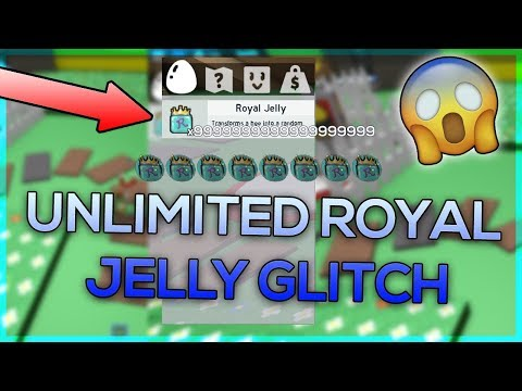 UNLIMITED ROYAL JELLY GLITCH IN BEE SWARM SIMULATOR (SO MUCH ROYAL JELLY)