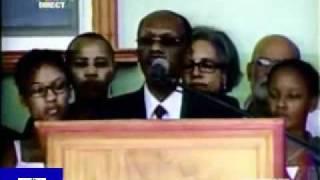 Aristide Returning Speech In Haiti 3 18th 2011