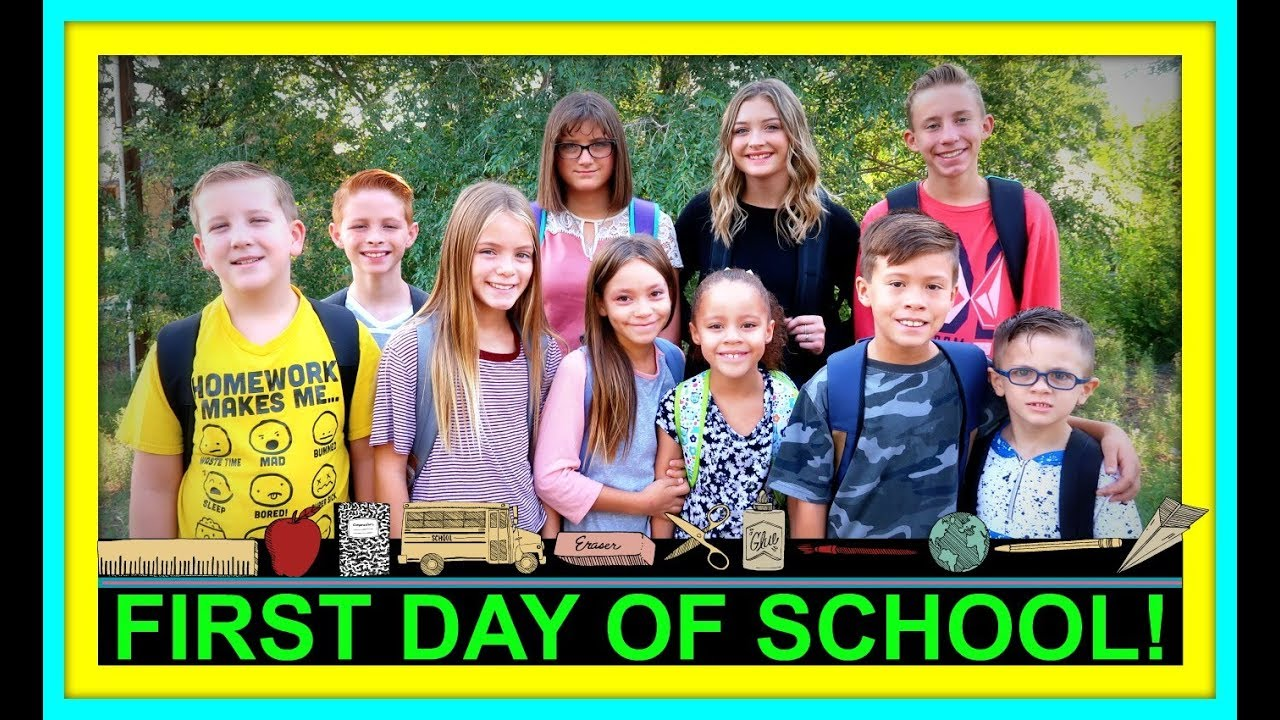 FIRST DAY OF SCHOOL 2018! | BACK TO SCHOOL!