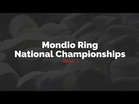 Level 3: Mondio Ring National Championships