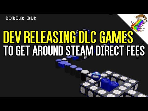 Developer Releasing Games as DLC to Bypass Steam Direct Fees