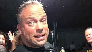 Wrestler Rob Van Dam Says Concussion Caused Visual Impairment, Can't Wrestle for WWE