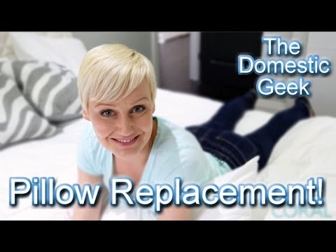 The Domestic Geek: When To Replace Pillows!