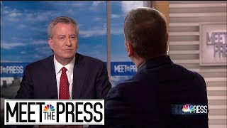 Download Full de Blasio: 'Amazon Just Took Their Ball And Went Home'   Meet The Press   NBC News Video
