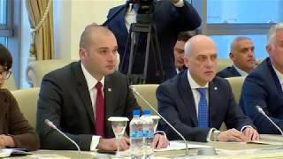პრემიერ-მინისტრი აზერბაიჯანის მილი მეჯლისის თავმჯდომარეს შეხვდა