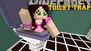 Minecraft: TRAPPED INSIDE A TOILET! - HIDDEN BUTTONS XXL - Custom Map