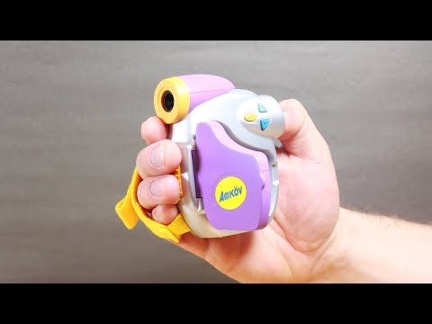 Unboxing Kids Video Camera