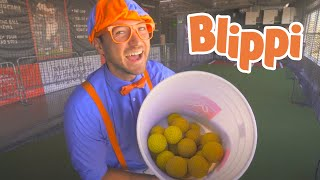 Blippi Learns About Sports For Kids | Educational Videos For Kids