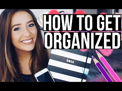 How to Get + STAY Organized! | Caitlin Bea