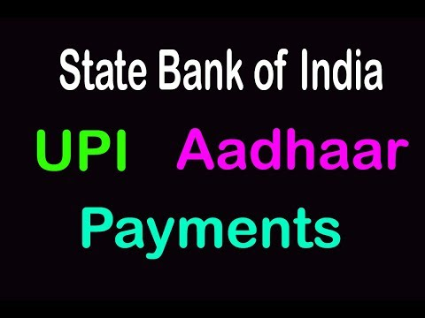 State Bank of India, send money to AADHAAR number, money tansfer to aadhaar number
