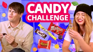 American British Candy Challenge w/ Mia Stammer & Chris Kendall | CHAT.LIKE.LOVE.
