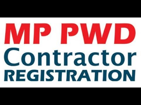 Madhya Pradesh PWD Online Registration Tutorial