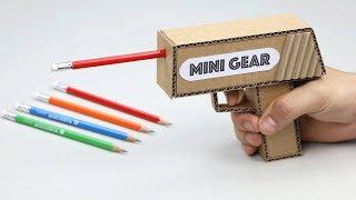 How to Make Pencil Sharpener Gun