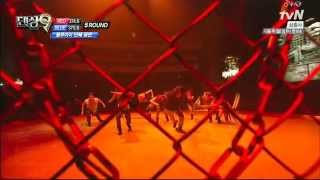 생방2차전 단체안무 'Radioactive' 블루아이_댄싱9 Dancing9 시즌2 Season2