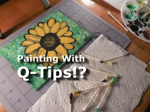 Painting With Q-Tips!