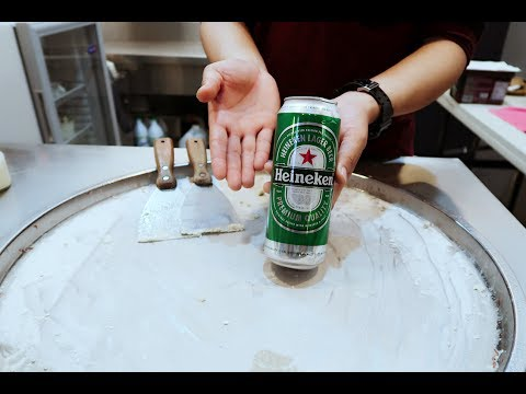 ICE CREAM ROLLS | Heineken Ice Cream Anyone? | Mountain Dew and Pepsi Soda Ice Cream