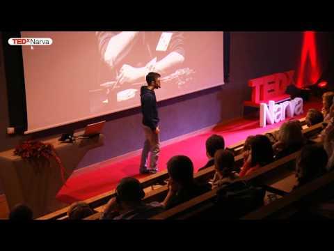 Luck is everywhere | Dmitri Sarle | TEDxNarva