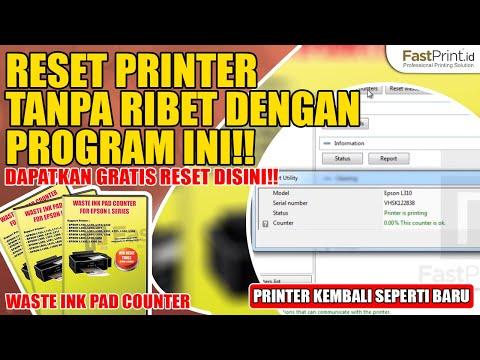 2 Menit Tuntaskan Masalah Waste Ink Pad Counter | Tanpa Perlu ke Service Center. Buktikan Sendiri!
