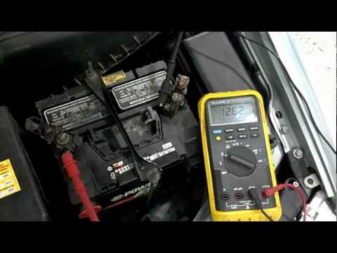 Battery Load Test With a Multimeter