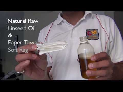 How To Oil a Cricket Bat