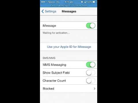 How To Turn Imessage Onoff