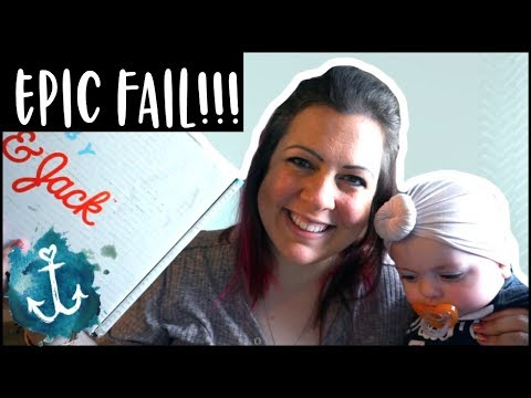 MOTHERS DAY FAIL + CAT AND JACK SUMMER SUBSCRIPTION UNBOXING | WatersWife
