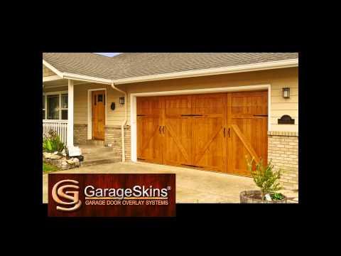 Introduction to GarageSkins garage door overlay panels