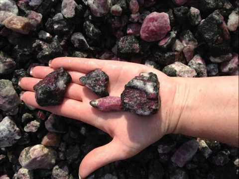 Sapphire and Ruby 'AAA' Grade Rough - 1 Pound Lot | Lapidary for Cabbing; ruby rough stone
