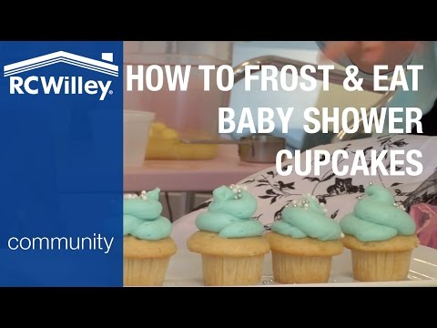 How to Make the Best Baby Shower Cupcakes Part 2