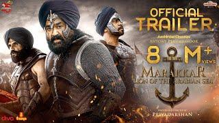 MARAKKAR - Official Hindi Trailer | Mohanlal, Suniel Shetty, Arjun, Prabhu | Priyadarshan