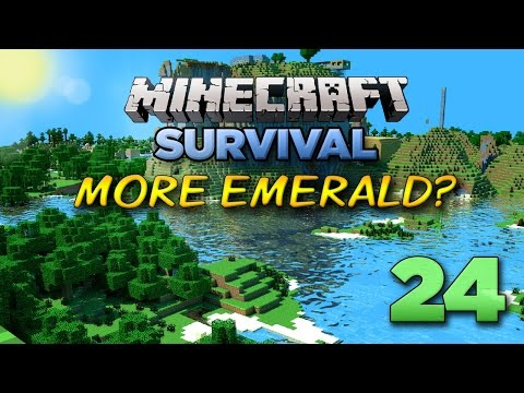 Minecraft Xbox: Let's Play - More Emerald? [Part 24] - Xbox 360 Edition