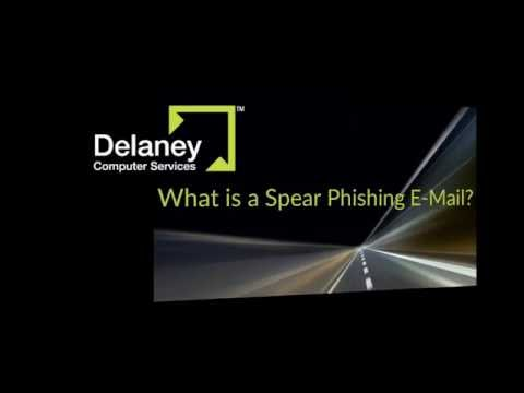 Learn how to quickly identify a spear phishing email in less than 3 minutes.