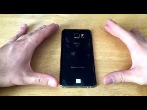 Samsung Galaxy Note 5 - How to screenshot