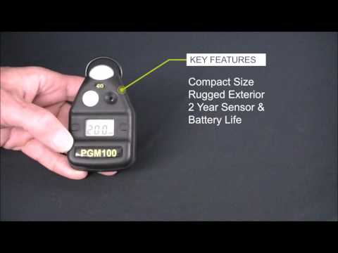 TPI Model PGM100 Personal Carbon Monoxide Monitor