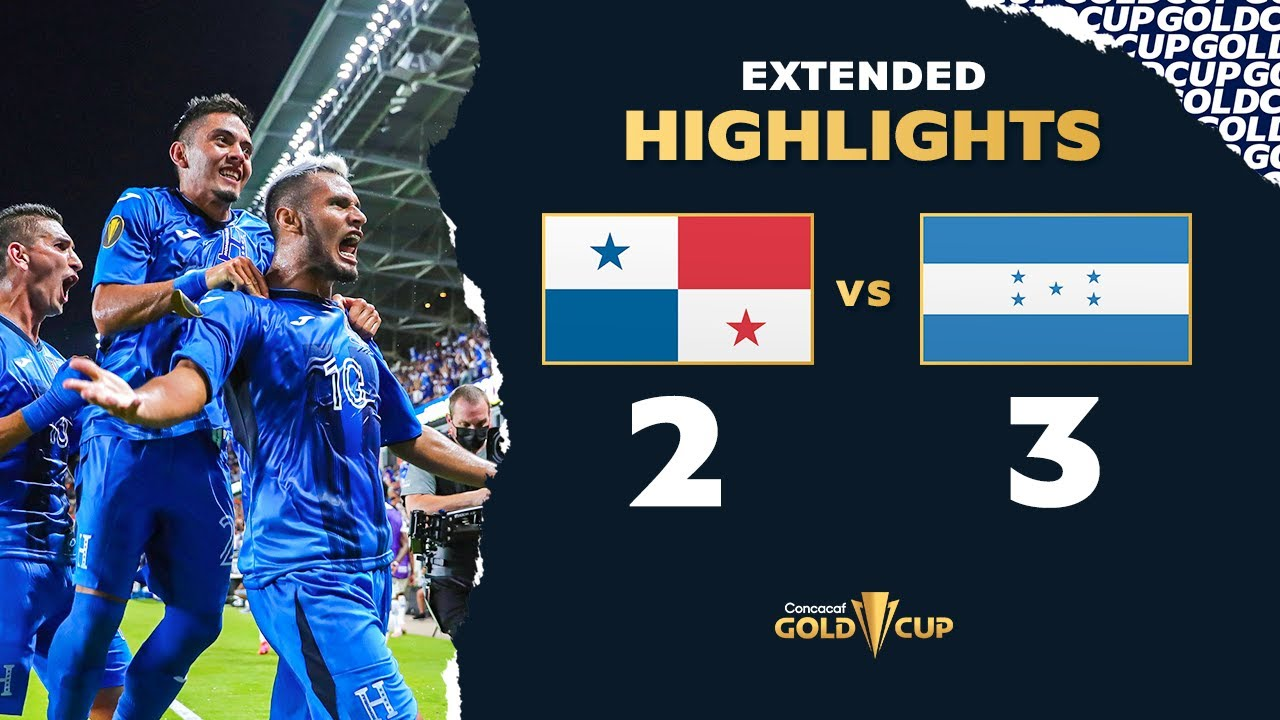 Extended Highlights: Panama 2-3 Honduras - Gold Cup 2021