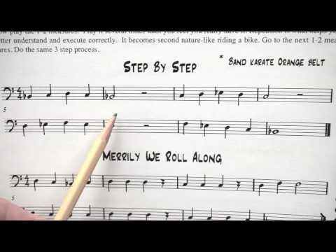 Reading Notes Trombone