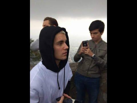 Justin Bieber In Monserrate/Bogota