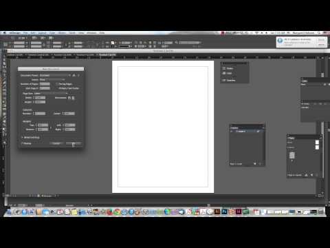 Changing Margins, Columns and Gutter widths in an InDesign Document