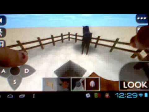 Survivalcraft Donkey and Black horse+Epic Lava Ocean