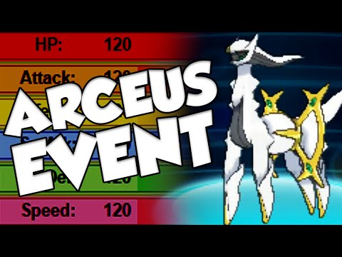 ARCEUS EVENT! GET ONE OF THE BEST POKEMON IN THE GAME NOW! #Pokemon20 Event Arceus